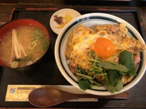大阪で出前なら小雀弥がおすすめ。親子丼。