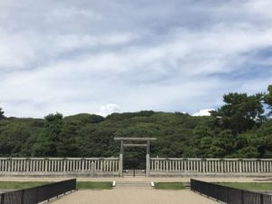 仁徳天皇陵の写真です