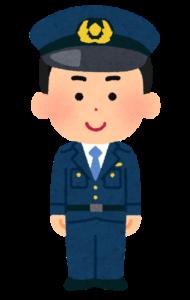 大阪のかわいい警察官。